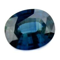 Certified Natural Blue Sapphire 1.19ct VVS Clarity Madagascar Oval 7.4x6 mm