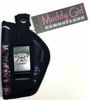 Muddy Girl side gun holster for Smith & Wesson 38 Special 5 shot