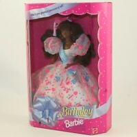 Mattel - Barbie Doll - 1994 Birthday African-American Barbie *NON-MINT BOX*