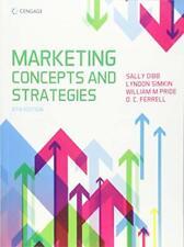 Marketing Concepts & Strategies, Simkin, Pride, Ferrell, Dibb 9781473760271,.