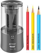 Afmat Electric Pencil Sharpenerauto Stop Super Sharp Amp Fast New In Box Black