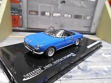 FIAT 124 Spider BS 1972 Roadster Cabriolet cabrio blau blue Vitesse SP 1:43