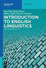 Introduction to English Linguistics von Maria Braun, Mareile Schramm, Sabine...