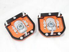 Camber Plates E30 3D 2WAY Drift BMW top mounts orange