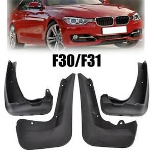 FOR 12- BMW 3 SERIES F30 F31 MUD FLAP SPLASH GUARDOEM STYLE FRONT+REAR MUDFLAPS