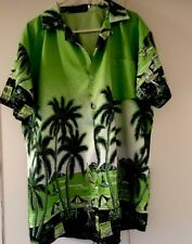 FIGHT THE WOLF Hawaiian shirt UK M  Stag Night- Party Tropical C2