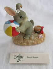 Fitz & Floyd Charming Tails (Beach Bunnie) Item No. 83/101 New In Box