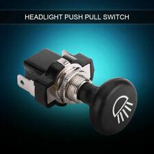 12V Car Headlight Push Pull Light Switch for Cart EZGO Yamaha Universal hh
