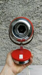 lampada da tavolo space age eye ball vintage lamp