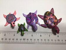 turtle Four Miniature Sea Turtles