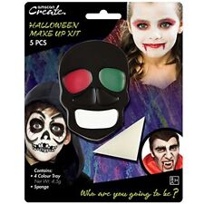 5 PCS Halloween Vampire Horror Zombie Make Up Fancy Dress Party Sponge Kit