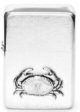 Crab Crustacean Petrol Cigarette Lighter Gift Boxed FREE ENGRAVING 86