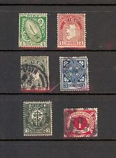 Mixed group of two MINT and four Used Ireland Inc. J2 SCV=$8.75