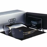 2019 Hot Audi Sunglasses Luxury Brand Men Polarized Sunglasses With Brand Box