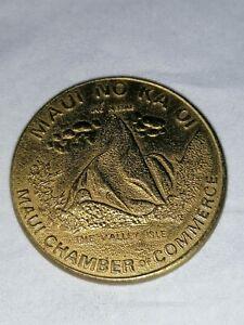 Maui Dollar Hawaii 1975 Lahaina First Capital Maui Handelskammer Maui no ka oi