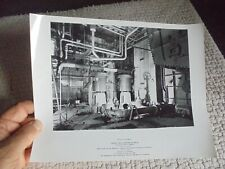 Photo Industrielle Condenseurs DELAS Paris Centrale Electrique de CHINON