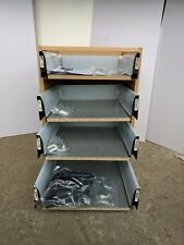 16mm KITCHEN DRAWERS TO FIT 500mm CABINET PACK OF 4  SOFT CLOSE (8176) x FOUR