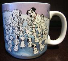 RARE Disney Vintage 101 Dalmatians Cruella De Vil Coffee Mug Ceramic Porcelain