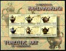 2005. Uzbekistan. Fine Art. Toreutic ART. M/sheet. MNH. Sc.422