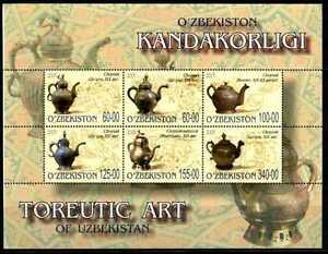 2005. Uzbekistan. Fine Art. Toreutic ART. M/sheet. MNH. Sc.422