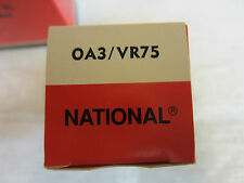 NATIONAL ELECTRONICS VACUUM TUBE 0A3/VR75