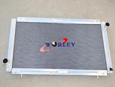 Aluminum Radiator for Subaru Impreza WRX STI GC8 Manual MT 1992-2000