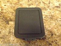 96-00 OEM Honda Civic EK remote power mirror switch blank cover plug dark gray