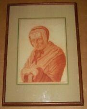 RARE SIGNED W.G.D 1788 18TH CENTURY AMERICAN EUROPEAN WOMAN PORTRAIT ART ANTIQUE