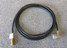 RF Coxial Cable Black 6FT SMA Male Straight to N Male Right Angle