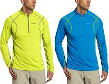 Columbia Men's Insect Blocker Sporty Half Zip Meshy Shirt, S/XL/XXL - $80 NWT!