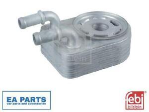 Ölkühler, Motoröl for CHRYSLER DODGE JEEP FEBI BILSTEIN 106877