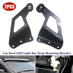 Universal Off-road SUV Car Roof LED Light Bracket Car Upper Bar Mounting Bracket