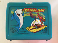 RARE Jabberjaw Plastic LunchBox Copyright Dated 1977 NO THERMOS