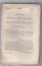 RARE 1852 REPORT ON JOSEPH BALESTIER'S MISSION TO SIAM - THAILAND U.S. DIPLOMACY