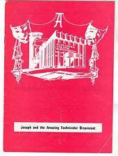 Alexandra Theatre Birmingham - JOSEPH Programme 1975