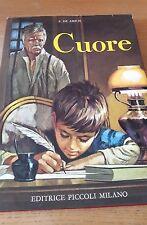 CUORE - E. De Amicis - Ed. Piccoli
