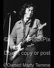Rory Gallagher Photo 1973 8x10 Concert Photo by Marty Temme 1F Stratocaster