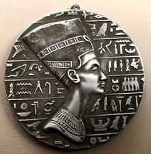 Queen Cleopatra / Egyptian / Uni-face White Medal / 74 mm / RARE / N148