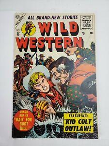 Wild Western #50 Atlas Comics 1956 Joe Maneely Cover