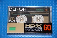 DENON HD-X  60    BLANK CASSETTE TAPE (1) (SEALED)
