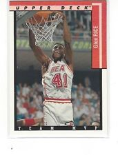 1993-94 UPPER DECK BASKETBALL TEAM MVPS GLEN RICE #TM14 - MIAMI HEAT