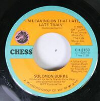 Soul 45 Solomon Burke - I'M Leaving On That Late, Late Train / You And Your Baby