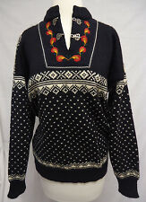 Vintage Dale of Norway Classic Fair Isle Nordic Ski Sweater