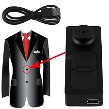 Mini S918 Button Pinhole Spy Camera Hidden DVR Hidden Video Recorder Y5RG :)