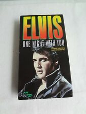 Elvis - One Night With You - vhs