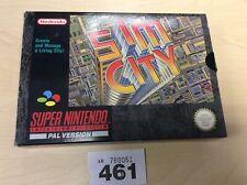 Super Nintendo Snes Sim City