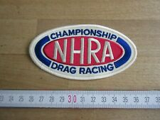 THERMOCOLLANT ECUSSON PATCHES AUFNAHER TOPPA NHRA CHAMPIONSHIP DRAG RACING