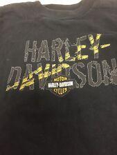 Harley Davidson Kids Shirt Size 6/8 Biker Shirt j3
