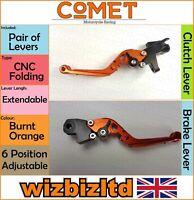BMW K 1200 Gt 2001-2005 [Pliable Extensible Orange] [ Comet Course Levier]