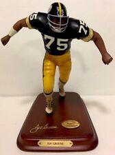 All Star Figurines-The Danbury mint ~ Joe Greene Pittsburgh Steelers